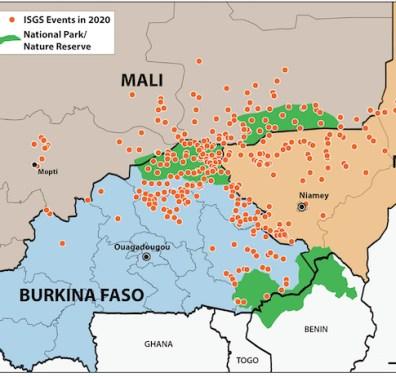 Sahel ISGS 2020 - ACLED