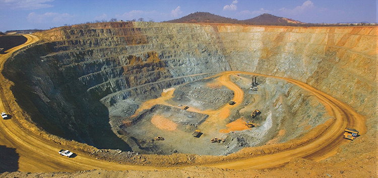 diamante Jwaneng mine