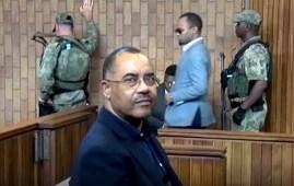 Manuel Chang in tribunale in Sudafrica