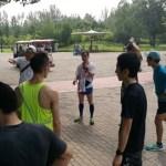 [北京生活]第一回ガチ駅伝大会(朝陽公園)