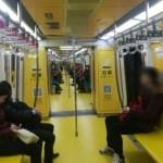 [北京生活]地下鉄広告が凄いことになってた