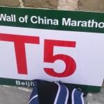 [ラン]T5始動(万里の長城マラソン完走への道)