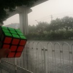 [ラン]残り500mで雷雨に会う(北京地下鉄房山線ラン)