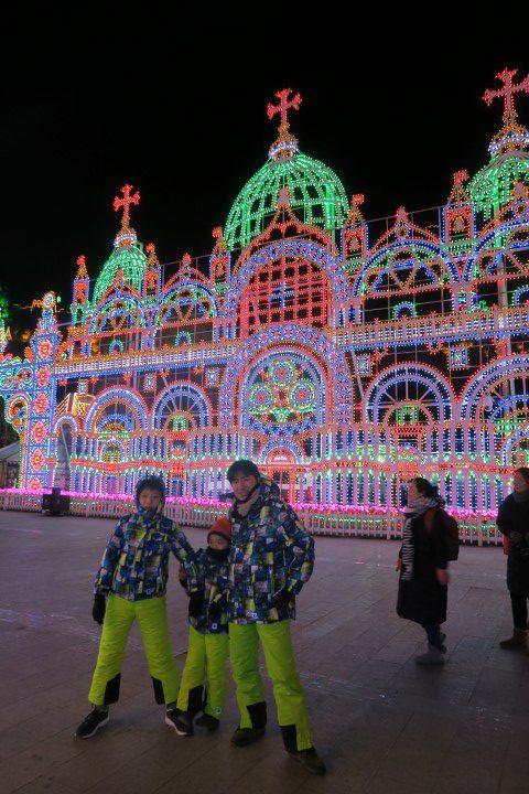 [北京観光]龍慶峡氷祭り