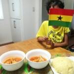 [ガーナ]ガーナの代表料理「フーフー」