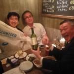 [ネットワーキング]東京マラソンボランティア仲間と交流会!