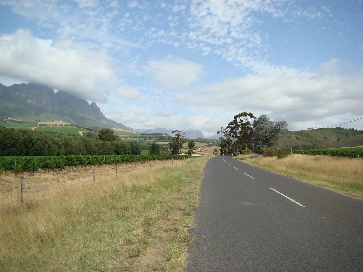 Cape Winelands Mountains