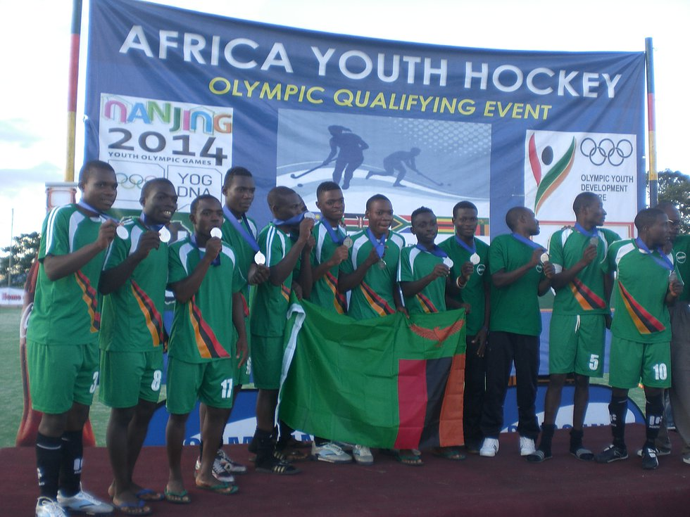 Youth Olympic Games Qualifiers-March 2014-Zambia team