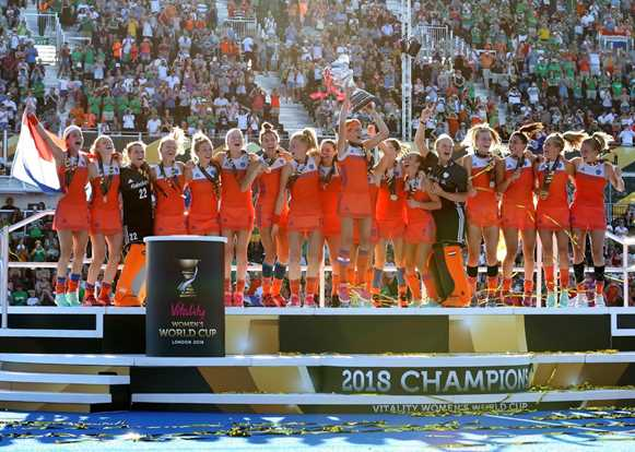 Glorious Dutch dominate and record books are re-written
