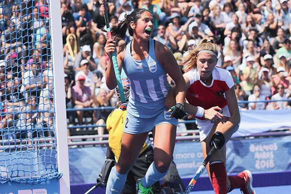 Argentina top Pool A on goal difference Photo: Buenos Aires 2018