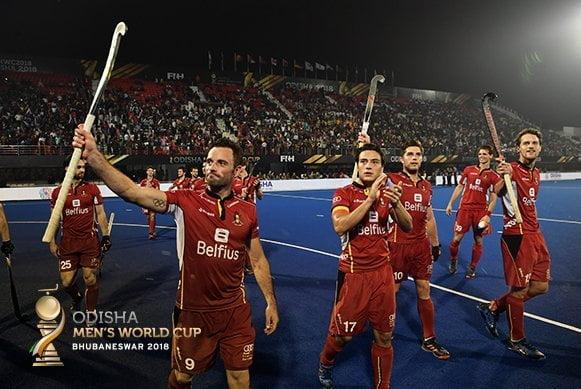 Belgium and Netherlands complete quarter-final line-up on Day 14 of Odisha Hockey Men's World Cup Bhubaneswar 2018