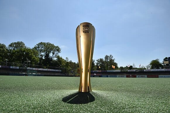 #FIHProLeague: 48.5cm, 7kg and gold-plated brass: the FIH Pro League trophy is born!