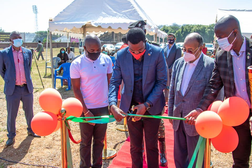 Pablo Negre Turf Inaugurated for Malawi 2021