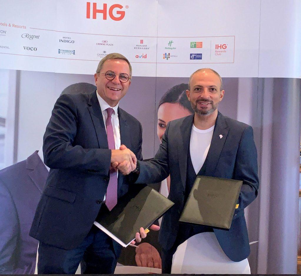 IHG® signe un accord avec Aleph Hospitality pour étendre sa présence en Afrique