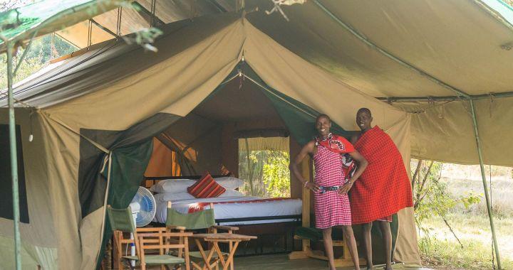Kenya: Le camp d'Olgatuni s'ouvre à Masaï Mara