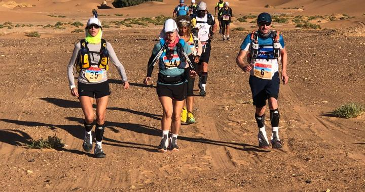 Le 4ème Race Désert Marathon prend fin en apothéose sur les dunes de sable de Merzouga