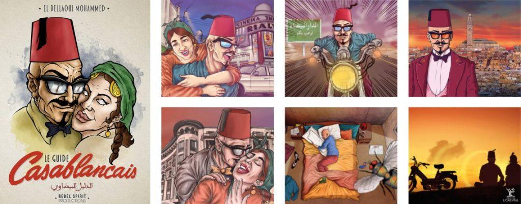 """Vernissage de l'exposition """"Nouvelle génération, la Bande dessinée arabe aujourd'hui"""" le 6 décembre à Oujda"""