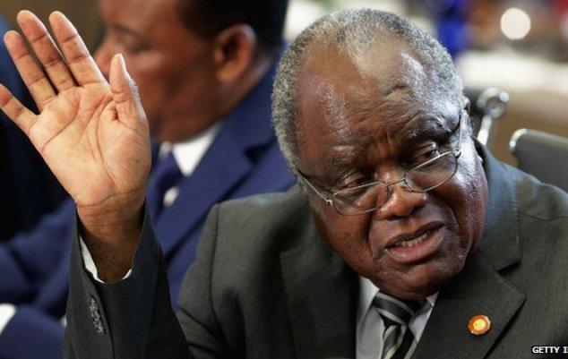 Namibian President Hifikepunye Pohamba