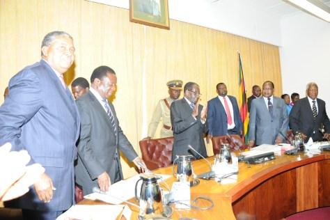 Zimbabwe Cabinet ZANU PF