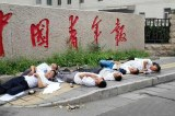 Abandoned chinese children commit suicide by drinking pesticide