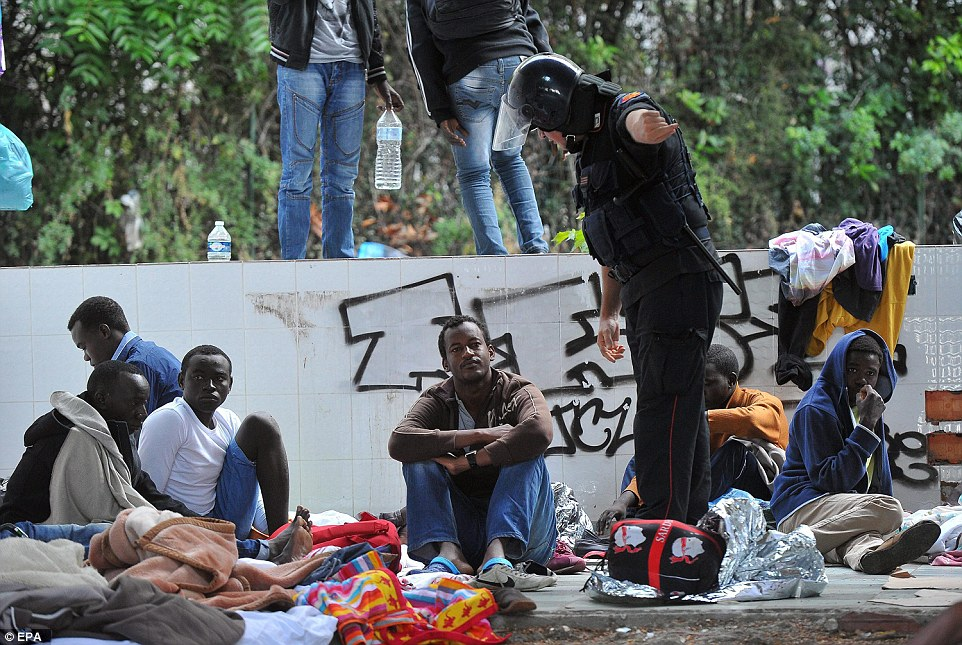 African Refugee Influx to Europe
