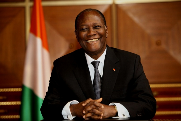 Image result for President Alassane Ouattara