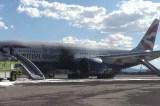 British Airways Boeing 777 plane catches fire at Las Vegas airport