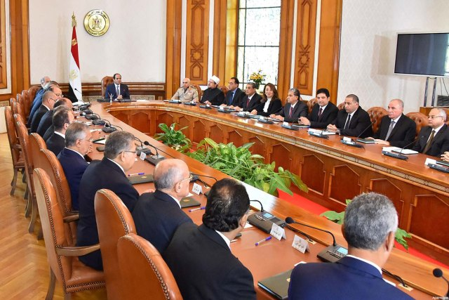 Second Sisi government sworn in
