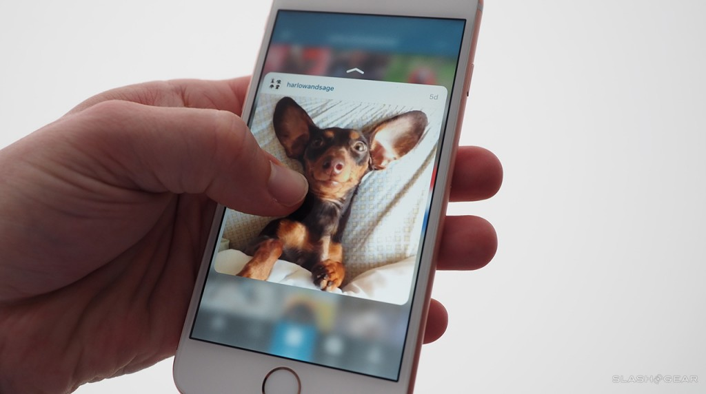 iPhone with '3D Touch'