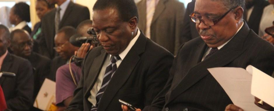Vice President Emmerson Mnangagwa fired from Zanu-PF