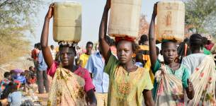 Smugglers become a lifeline for famine hit South Sudan