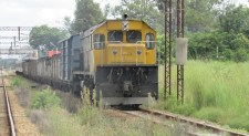 National Railways of Zimbabwe (NRZ) using letters for railroad signals