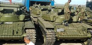 Army tanks seen heading towards capital Harare amid rising tensions between Robert Mugabe's Zanu PF and military