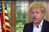 Watch Ethiopian Comedian Abiy Jammy Impersonating Donald Trump