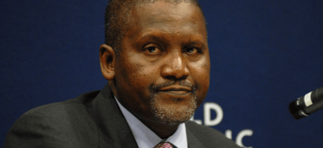 """Dangote says """"Sometimes it is just a matter of communication"""""""