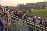 Tears, stampede at Mandava Stadium