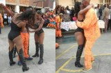 Viral Photos of Johannesburg Correctional Centre 'Strip-Show' Drive Facebook Users Up the Pole