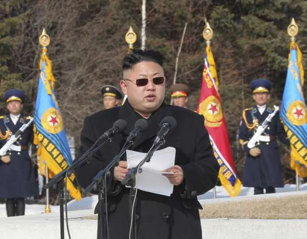 Image result for Kim Jong-Un orders execution of senior military officer for giving extra food rations to colleagues