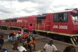 Train Collides With Seven Vehicles in Mozambique