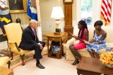 Chibok Schoolgirls Read Letter to President Donald Trump – White House