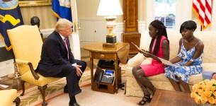 Chibok Schoolgirls Read Letter to President Donald Trump – White House