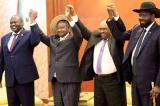 South Sudan's rival leaders Salva Kiir and Riek Machar sign power-sharing agreement
