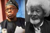 Former president Obasanjo awarded oil blocks for sex, says Wole Soyinka