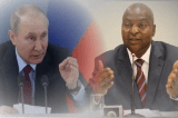 CAR President Faustin-Archange Touadéra Official letter of thanks to Russian Putin