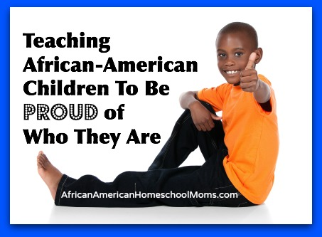 Proud African-American Boy