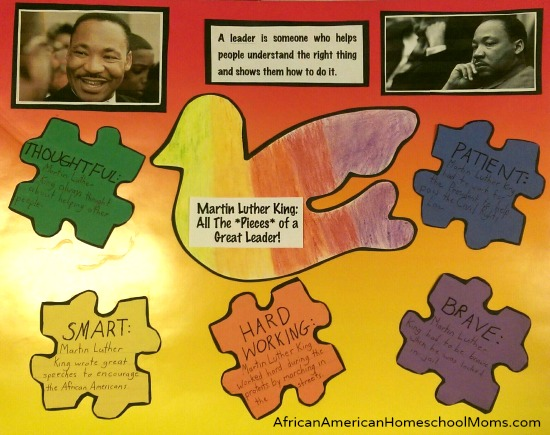 MLK Puzzle Poster