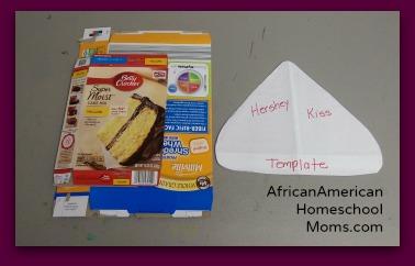 Hersheys Kiss Valentines Day Craft African American Homeschool