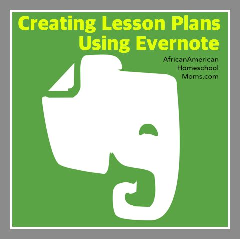 Creating Lesson Plans Using Evernote