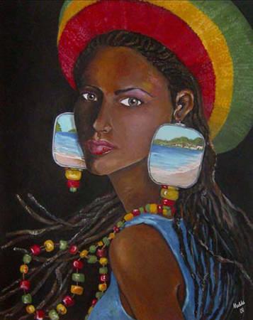 Caribbean woman