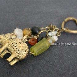 Beaded Key Rings & Bag Charms